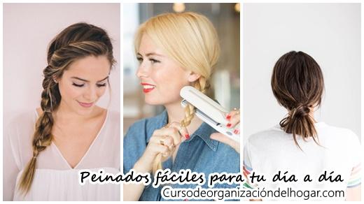 Peinados Faciles De Hacer Para El Diario Curso De Organizacion Del