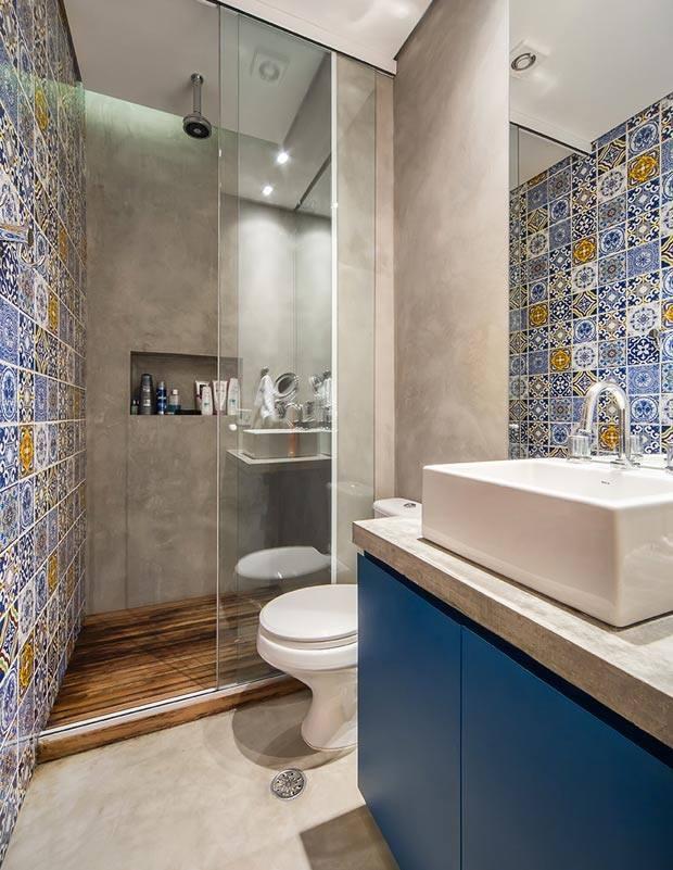 Tendencias en pisos y azulejos 2017 2018 50 curso de for Tendencias en banos 2017