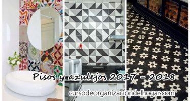 Tendencias para pisos y azulejos 2017 – 2018