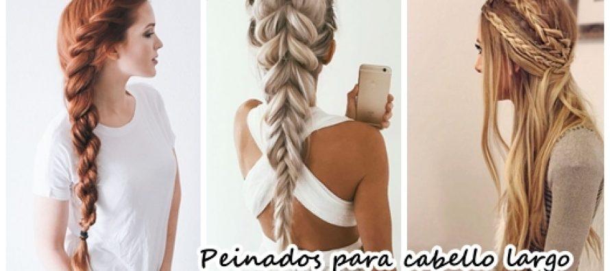 Trenzas para cabello largo inspirate con nuestras ideas - Ideas para peinar cabello largo ...