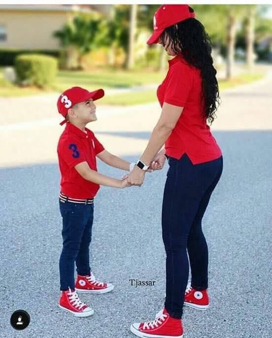 converse mamá e hijo