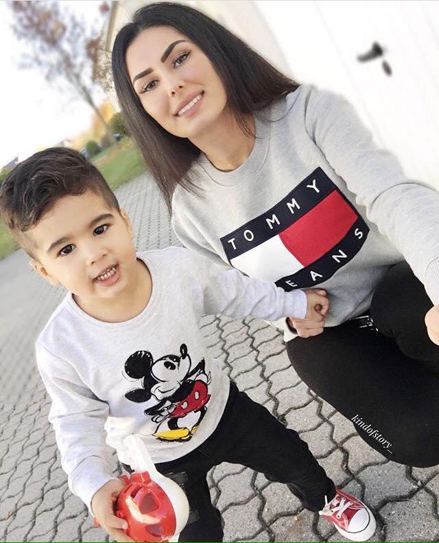 Outfits En Conjunto Para Mama E Hijo 2017 8 Curso De