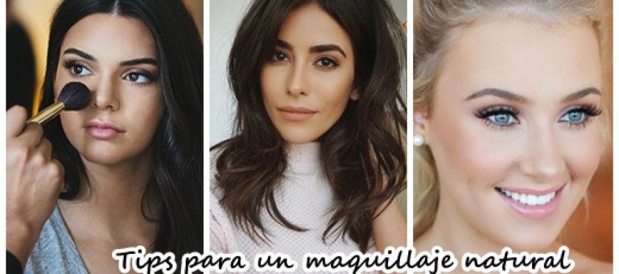Tips para lograr un maquillaje mas natural