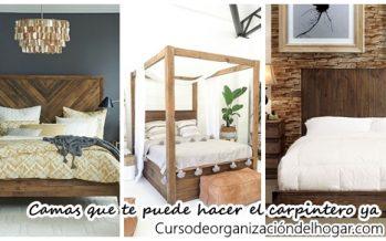 16 camas fabulosas que te puede hacer el carpintero ya