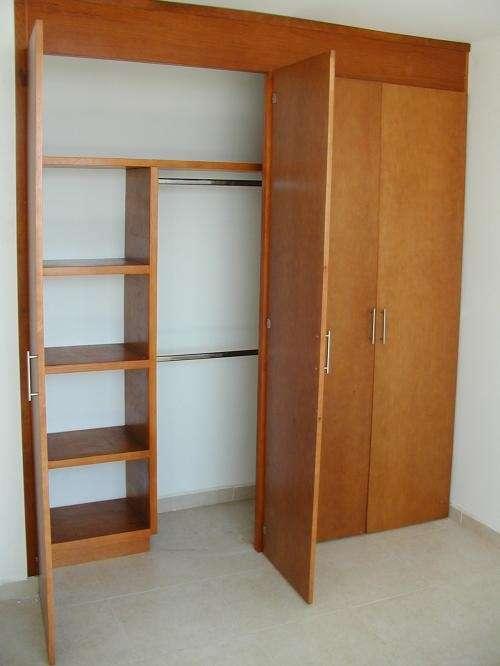 19 ideas de closets de madera para que te los haga el for Closet para ninos madera