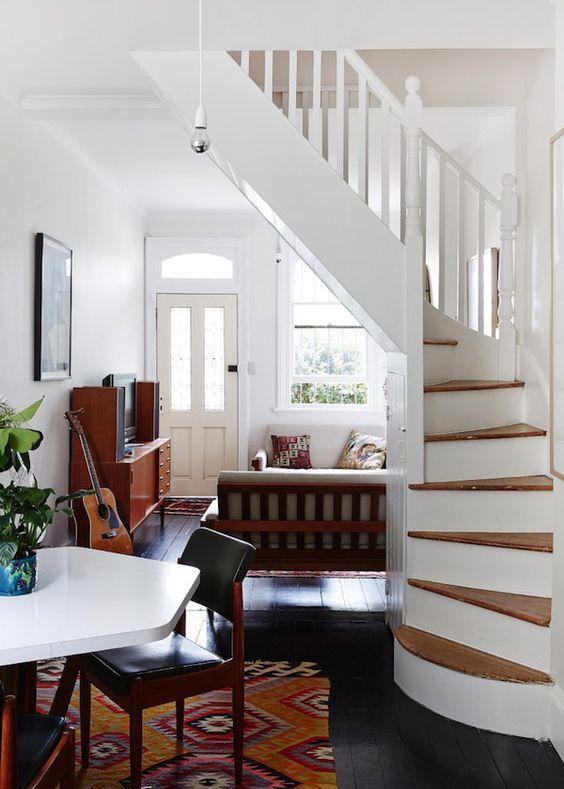 21 Escaleras Compactas Y Perfectas Para Casas Peque As