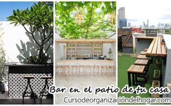 21 ideas de bares que puedes montar en tu patio para este verano