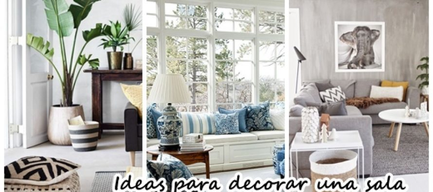 24 hermosas ideas para decorar tu sala