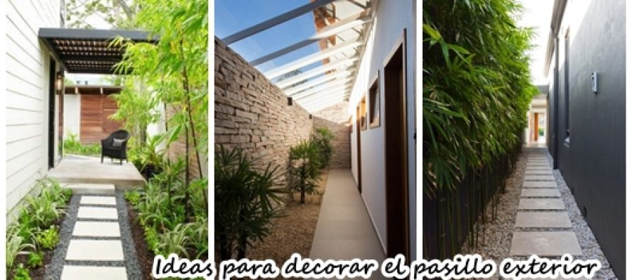 24 ideas fabulosas para que inspires a remodelar tu pasillo exterior ya