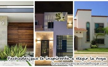 Fachadas de casas archivos curso de organizacion del hogar - Como disenar tu casa ...