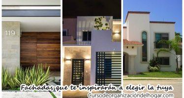 24 imágenes de fachadas que debes ver antes de diseñar tu casa ideal
