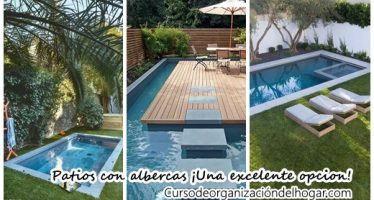 24 patios con albercas que vas a querer para tu casa