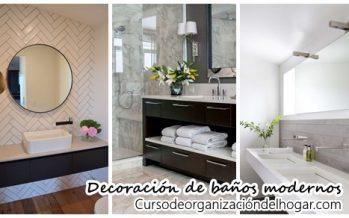 25 ideas de decoración para que tu baño se vea moderno