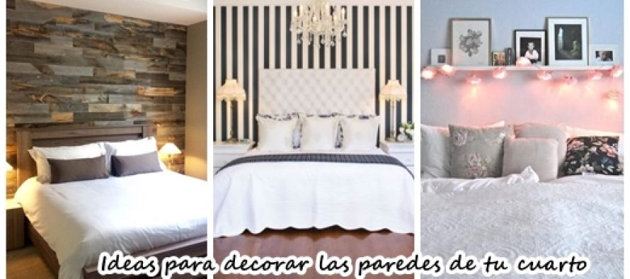 25 ideas para decorar las paredes de tu cuarto se vera for Tips para remodelar tu cuarto