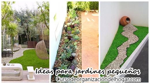 25 jardines peque os que caben en cualquier parte de tu - Jardines exteriores pequenos ...