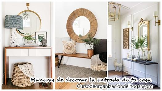 25 maneras de decorar la entrada de tu casa y que se vea preciosa