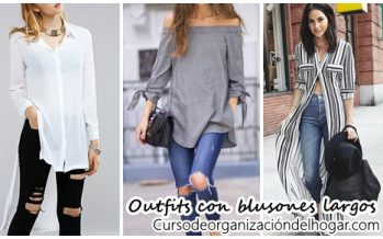 25 outfits para copiar con blusones largos