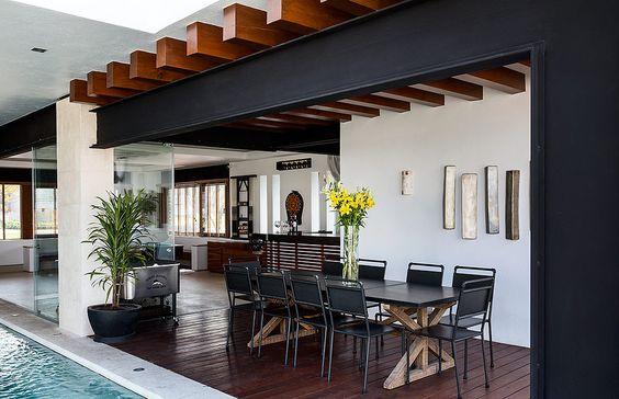 26 cocinas para tu patio faciles de hacer y se ven for Estilos de arquitectura contemporanea