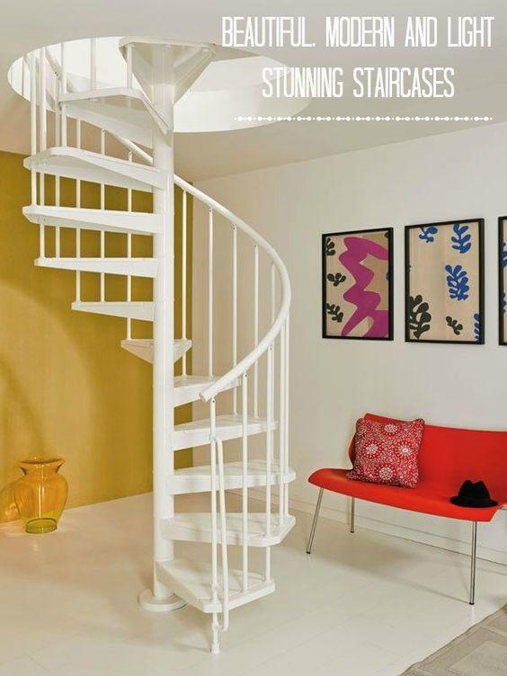 26 escaleras de caracol para casas pequenas 13 curso for Escaleras interiores de casas pequenas