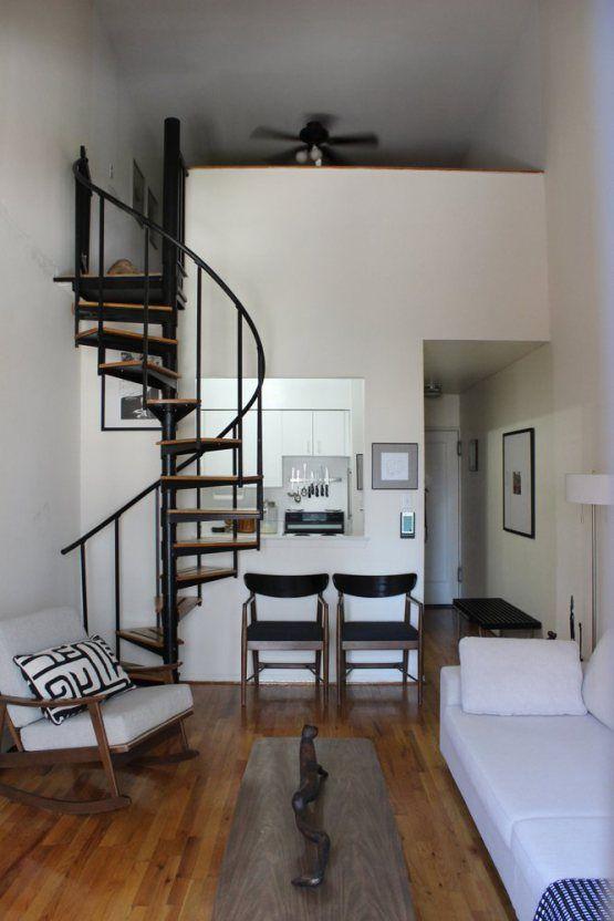 escaleras de caracol para casas pequeas
