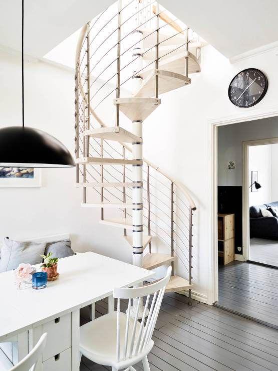 Encantador Escaleras Casas Modernas Foto Ideas para el hogar