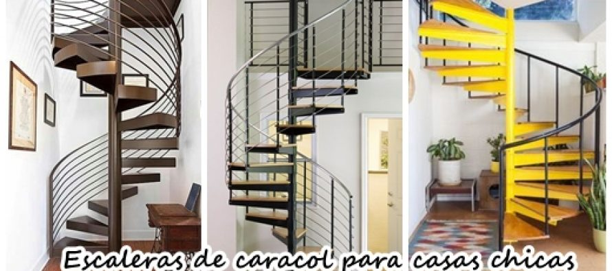 26 escaleras de caracol para casas peque as curso de for Gradas de casas