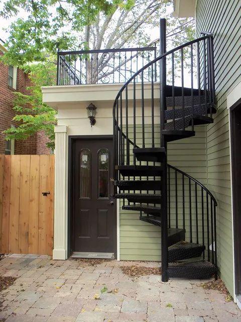 26 escaleras de caracol para casas pequenas 9 curso de for Escaleras interiores de casas pequenas