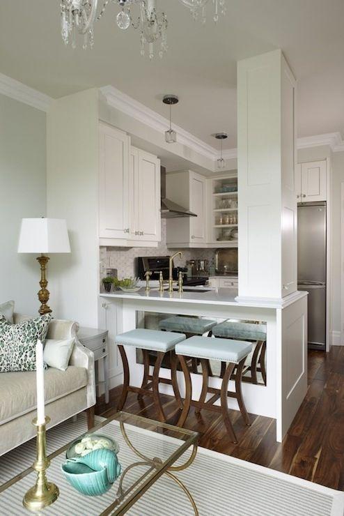 26 ideas para integrar sala comedor y cocina juntos 4 for Cocina y bano juntos