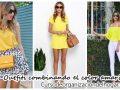 26 maneras de combinar el amarillo