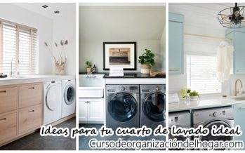 27 Fantasticas ideas para tu cuarto de lavado ideal