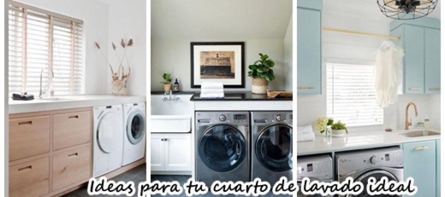 27 Fantasticas ideas para tu cuarto de lavado ideal