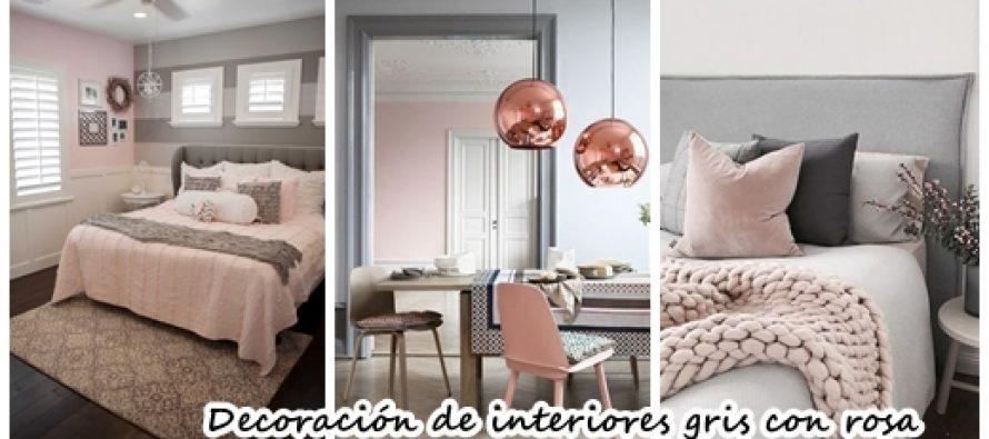 27 ideas de decoraci n de interiores gris con rosa curso for Decoracion hogar gris