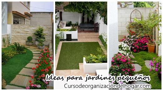 28 ideas que puedes poner en pr ctica si tu patio es peque o curso de organizacion del hogar y for Ideas para decorar patios muy pequenos