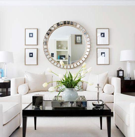 28 maneras modernas para decorar tu sala de estar con - Cuadros decoracion de interiores ...
