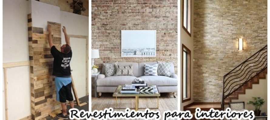 29 revestimientos de piedra para el interior de tu casa for Decoracion pared piedra