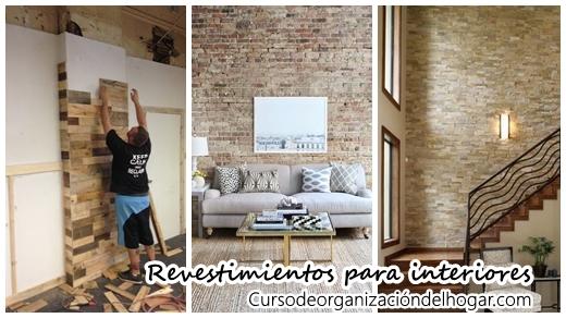 29 revestimientos de piedra para el interior de tu casa - Curso de ...