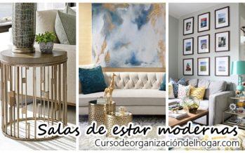 30 Fotos de salas de estar con estilo moderno