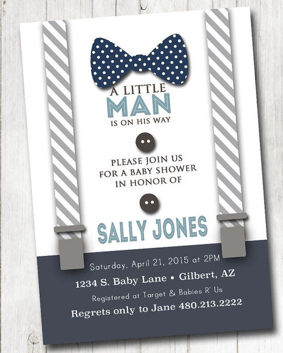 30 ideas para organizar y decorar un baby shower para nino - Organizar baby shower nino ...