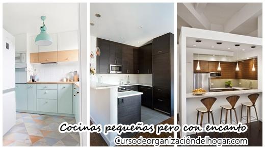 32 cocinas peque as pero repletas de encanto curso de - Cocinas pequenas con encanto ...