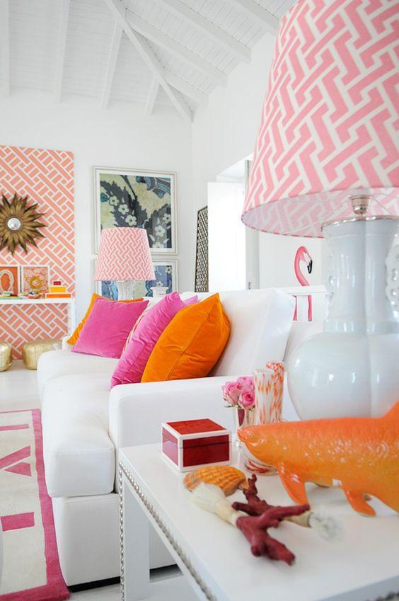 32 diferentes conceptos y colores para decorar el interior - Colores para decorar una casa ...