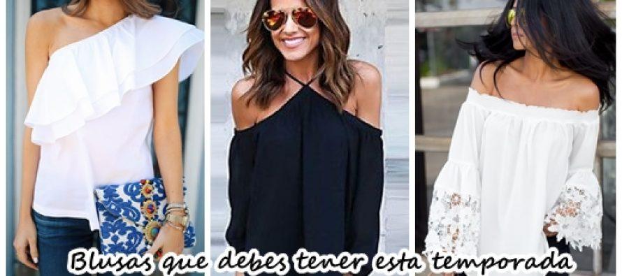 32 diseños de blusas que debes tener esta temporada