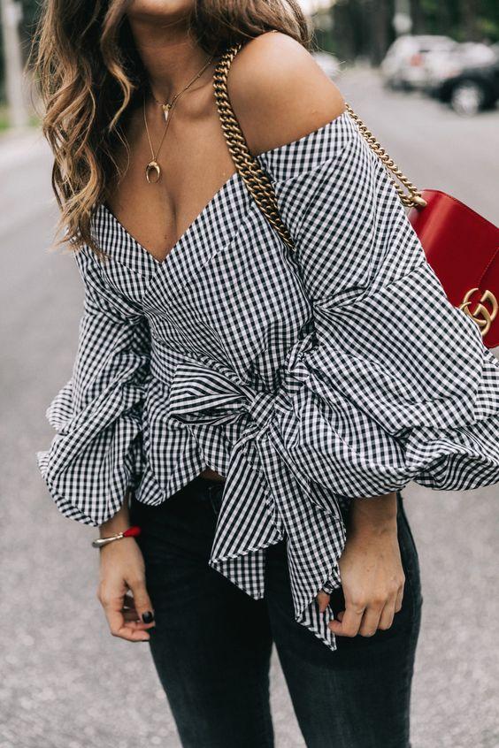 32 diseños de blusas que debes tener esta temporada Diseños de blusas que debes  tener esta temporada 1a8b31876c5e8