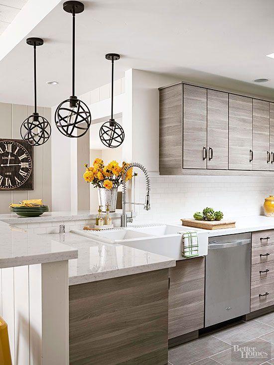 32 ideas que te van inspirar remodelar la superficie de tu for Ideas para remodelar cocina