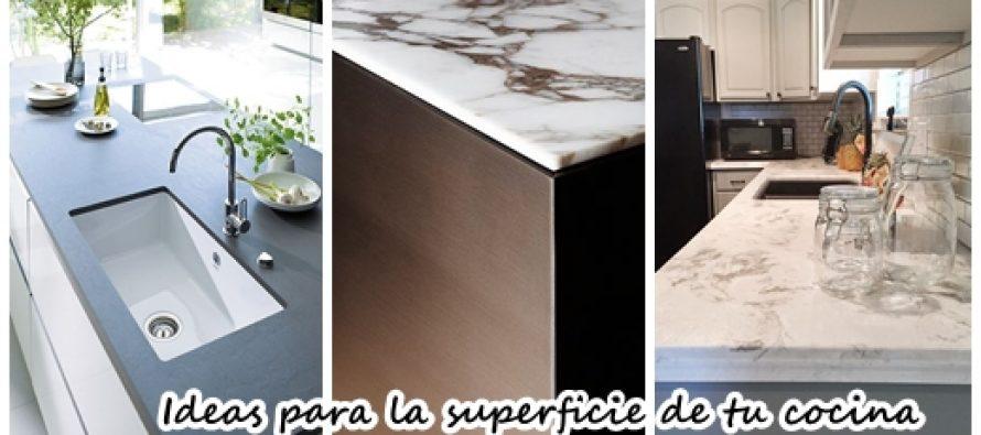 32 ideas que te van a inspirar a remodelar la superficie for Superficie cocina