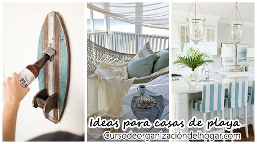 37 ideas para decorar una casa de playa curso de for Ideas para decorar la casa de la novia