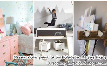 38 ideas que te encantarán para decorar la habitación de tus hijos