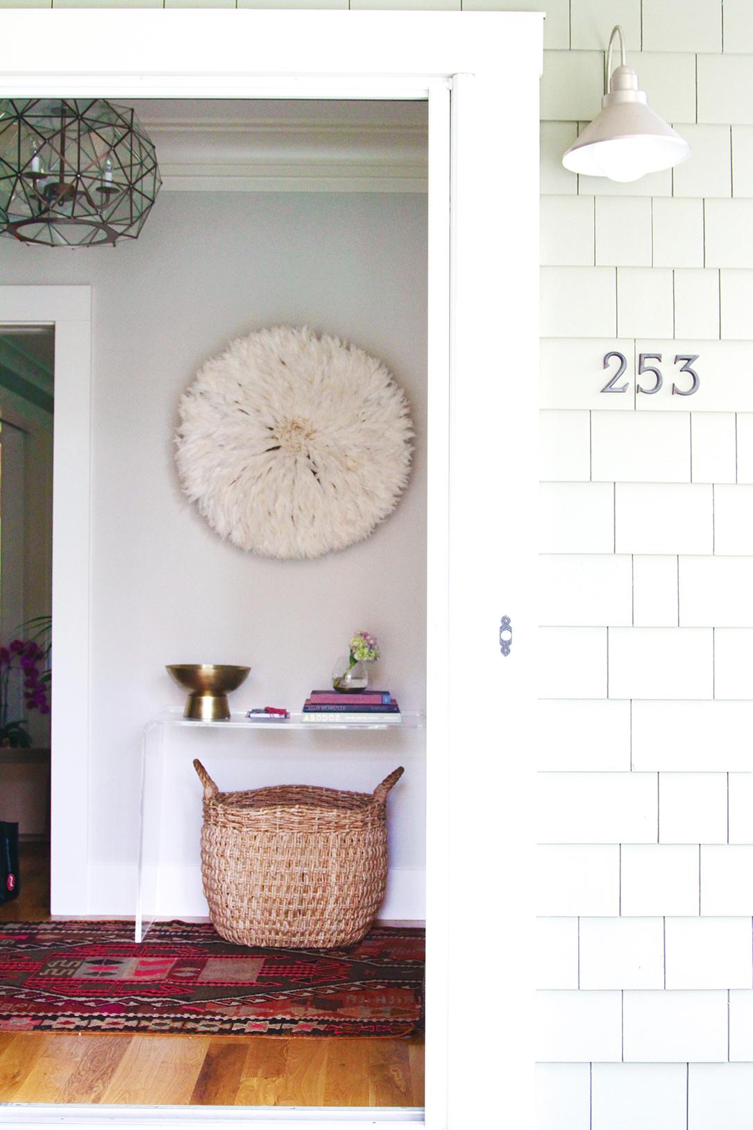 50 ideas para que la entrada de tu casa se vea fabulosa - Ideas para decorar una entrada de casa ...
