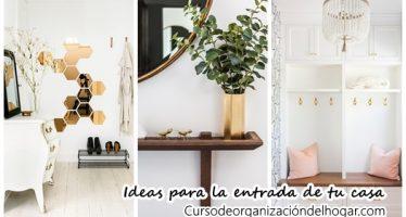 50 ideas para que la entrada de tu casa se vea fabulosa