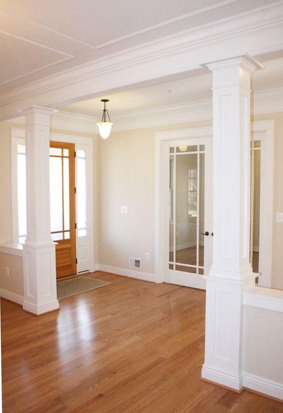 Columnas o pilares interiores para que tu casa se vea increible 17 curso de organizacion del - Columnas decoracion interiores ...