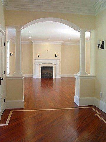 Columnas O Pilares Interiores Para Que Tu Casa Se Vea